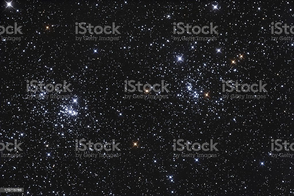 Beautiful Stars stock photo