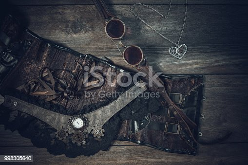 istock A beautiful still-life in the steampunk style 998305640