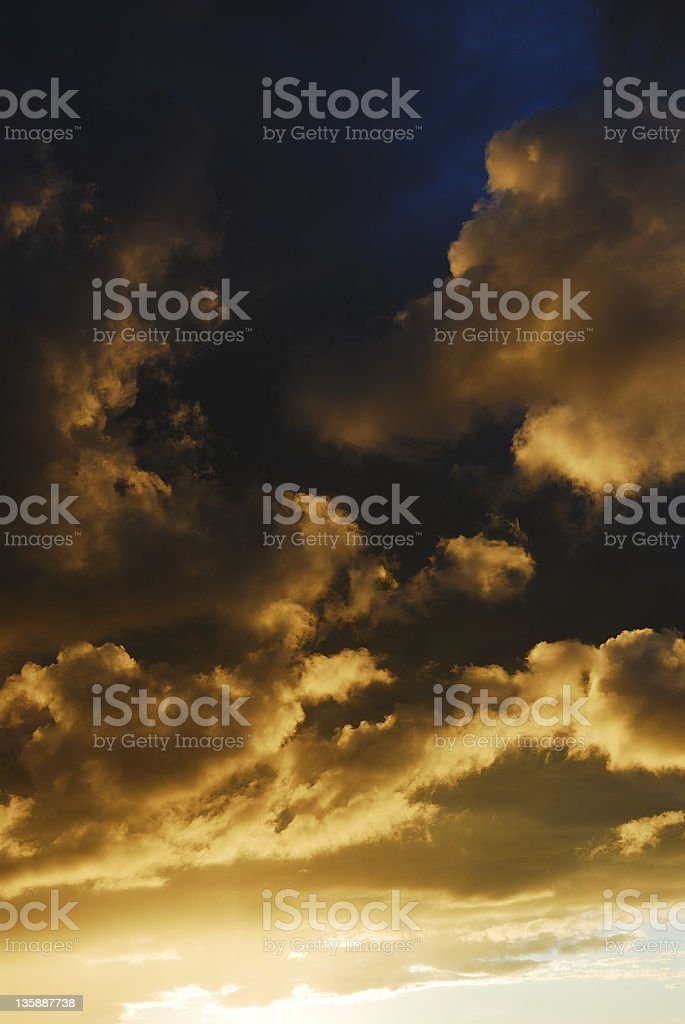 Beautiful Storm royalty-free stock photo