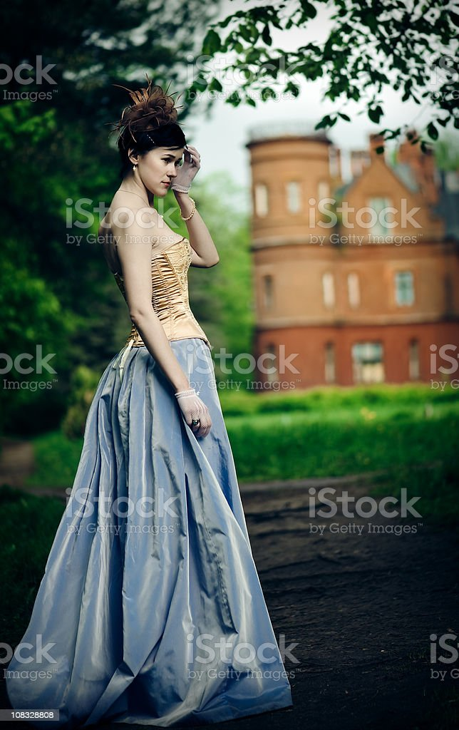 Beautiful stranger royalty-free stock photo