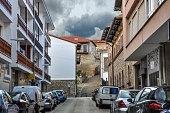 istock Beautiful street of a small European city of San Vicente de la Barquera, in northern Spain. Cantabria 1169209857