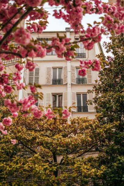 Schöne Straßen von Paris – Foto