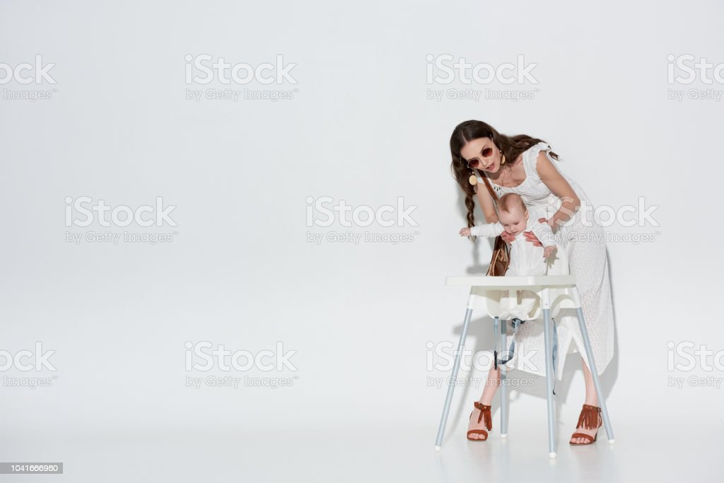 Prime Beautiful Stylish Woman In White Dress And Sunglasses Short Links Chair Design For Home Short Linksinfo