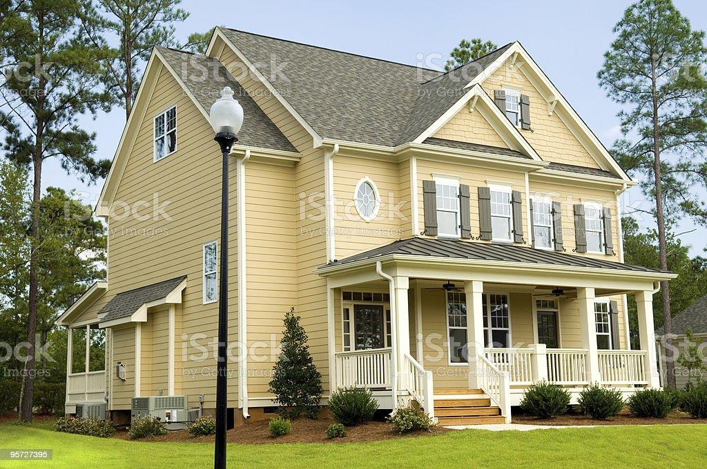 Beautiful Suburban Home royalty-free stock photo