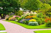 Lush summer Garden