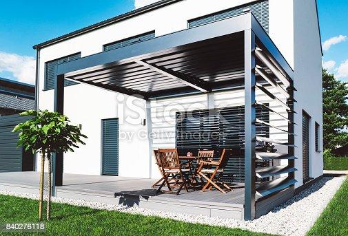 Beautiful summer luxury villa