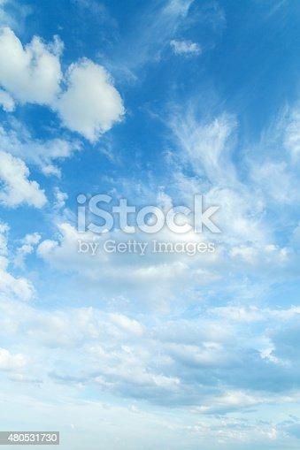 Beautiful summer sky