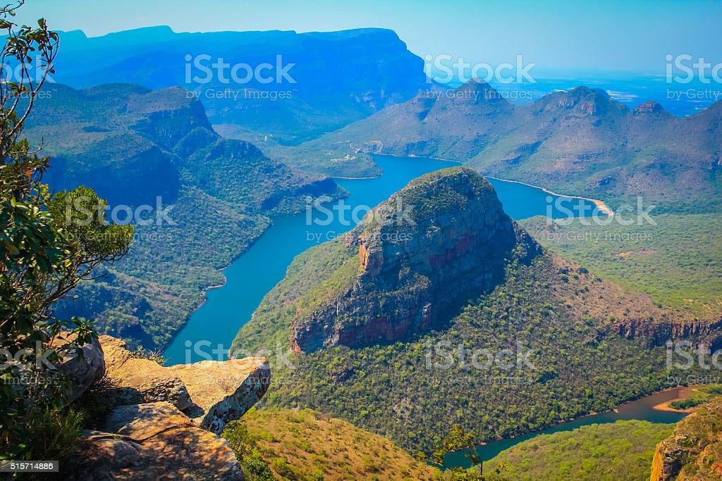 美しい晴れた日「ブライド川渓谷 ロイヤリティフリーストックフォト