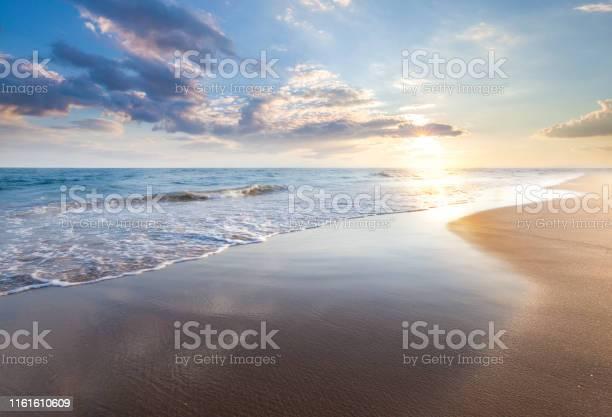 Photo of Beautiful sunrise over the sea
