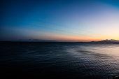Beautiful sunrise sky at Okinawa