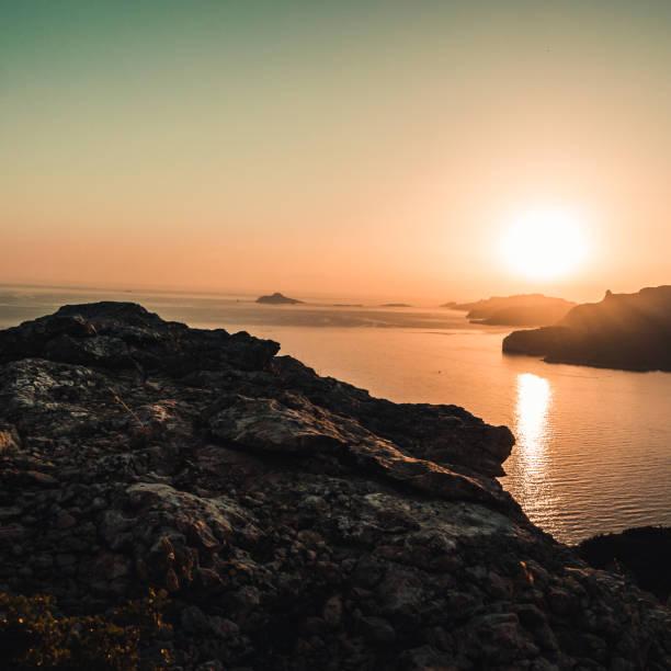 Sonnenuntergang am Mittelmeer – Foto