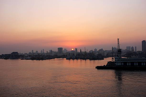 Beautiful sunset - Mumbai, India. – Foto