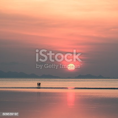497142294 istock photo Beautiful sunset on koh pangan 509539192