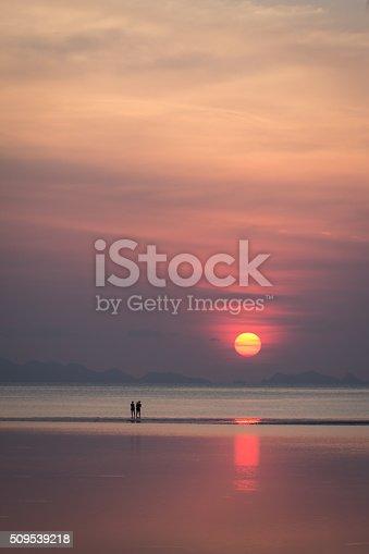 497142294 istock photo Beautiful sunset on koh pangan 509539218
