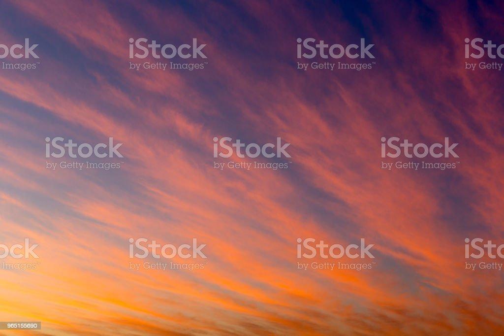 Beautiful Sunset Paints zbiór zdjęć royalty-free