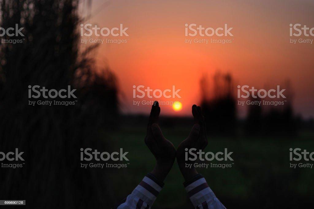 Magnifique coucher de soleil - Photo