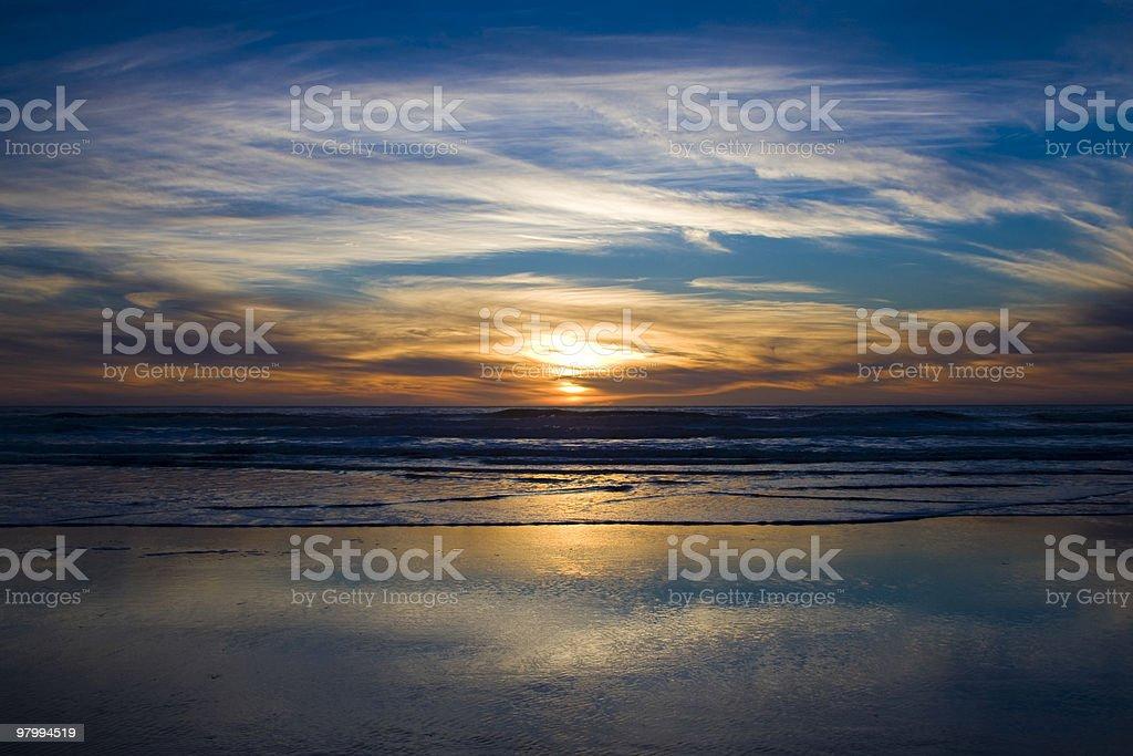 Beautiful Sunset royalty free stockfoto
