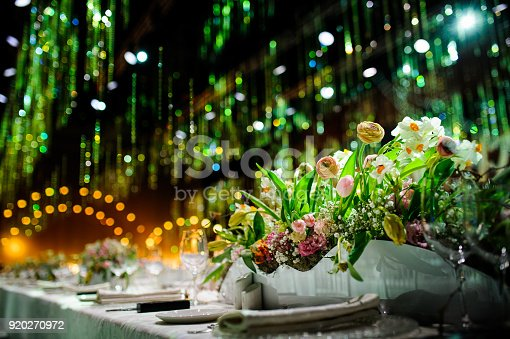 istock Beautiful table setting 920270972