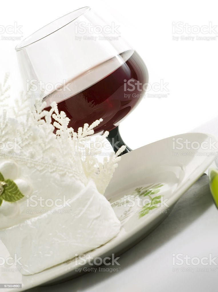 Beautiful tableware royalty-free stock photo