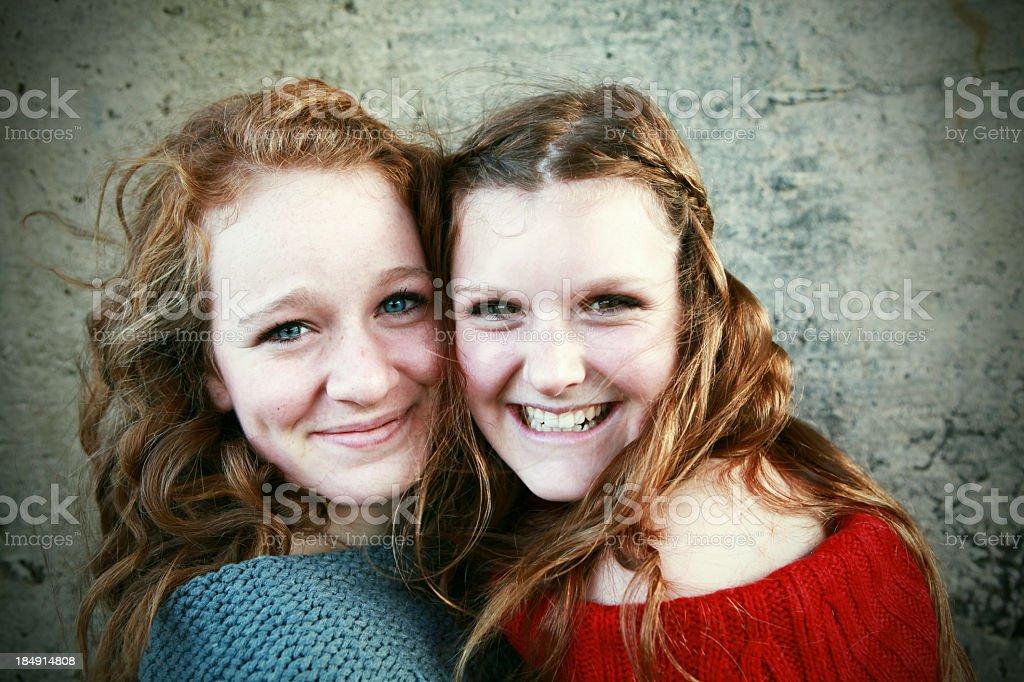 Beautiful Teen Girls Portrait royalty-free stock photo