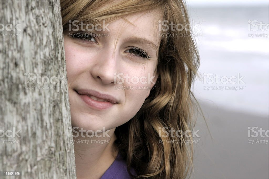 Beautiful Teen stock photo