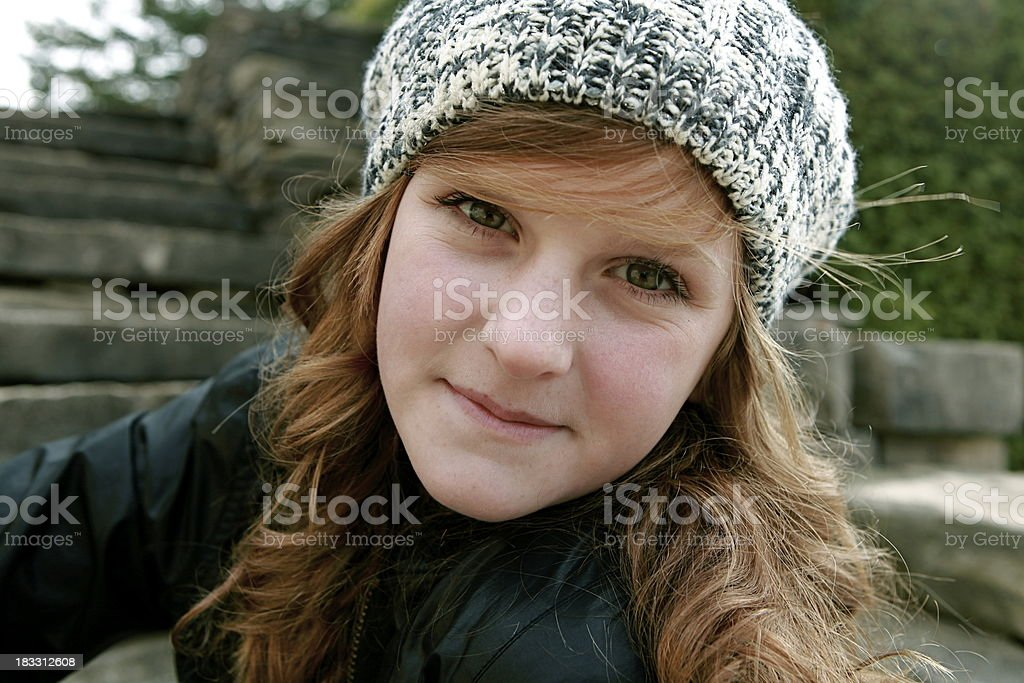 Beautiful Teen Portrait royalty-free stock photo