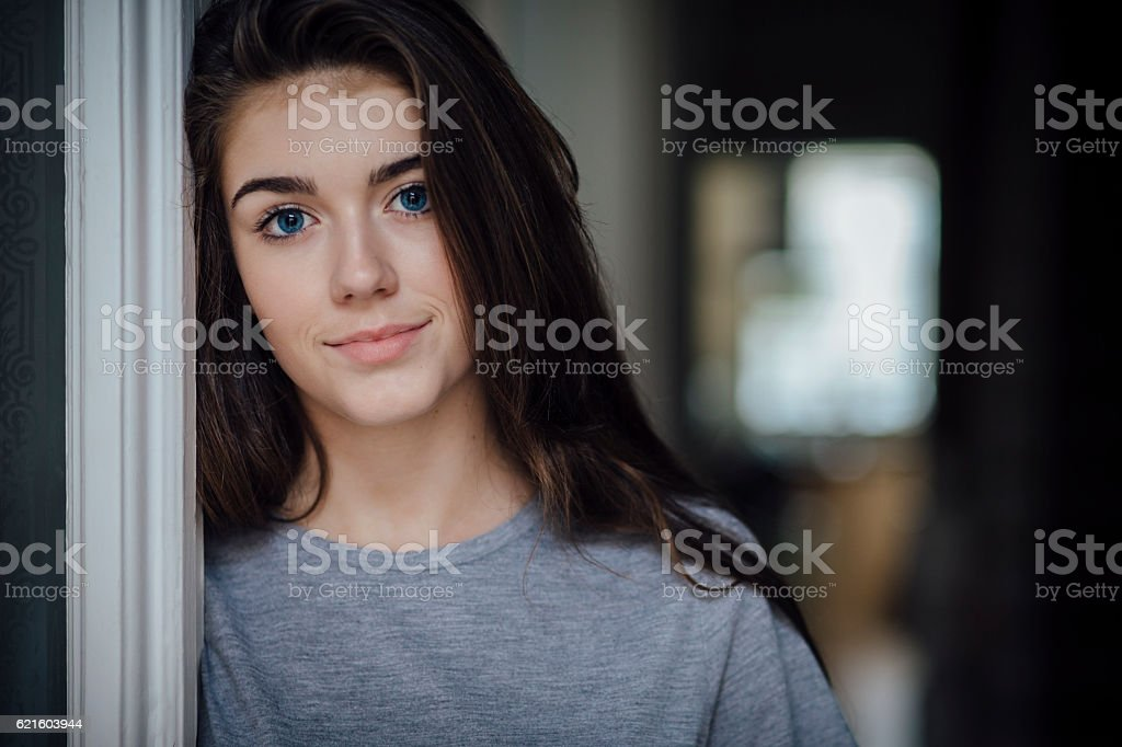 Beautiful Teenage Girl stock photo