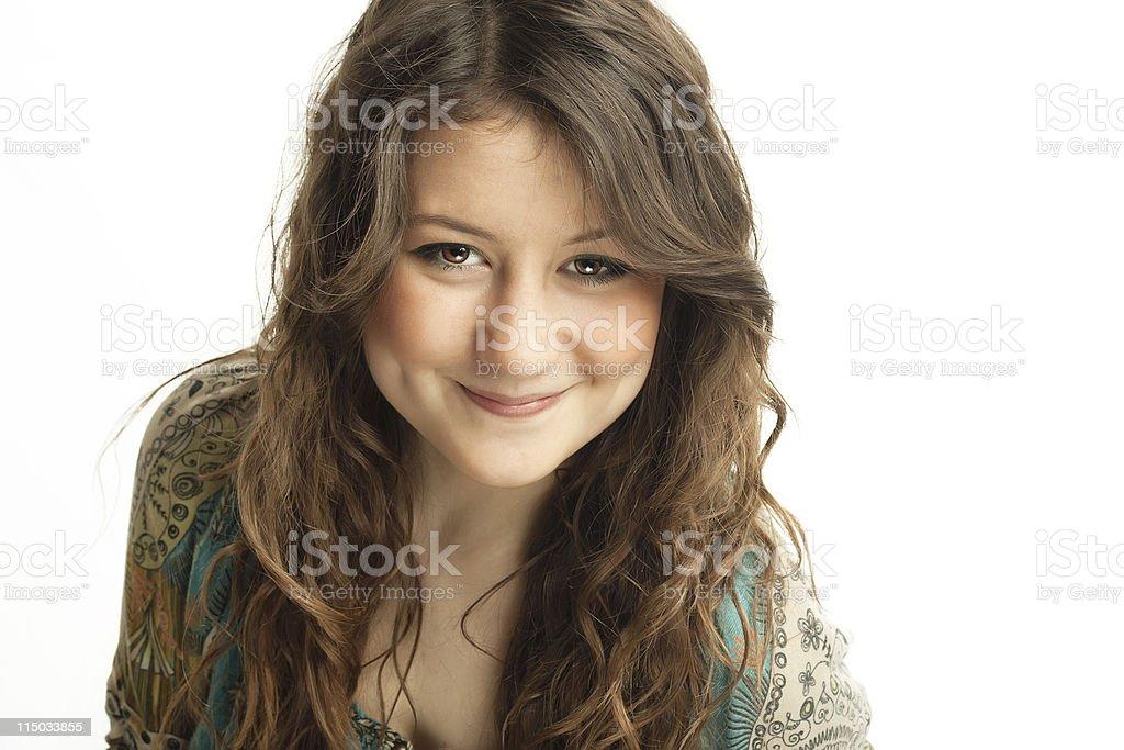 Beautiful Teenager Girl Portrait royalty-free stock photo