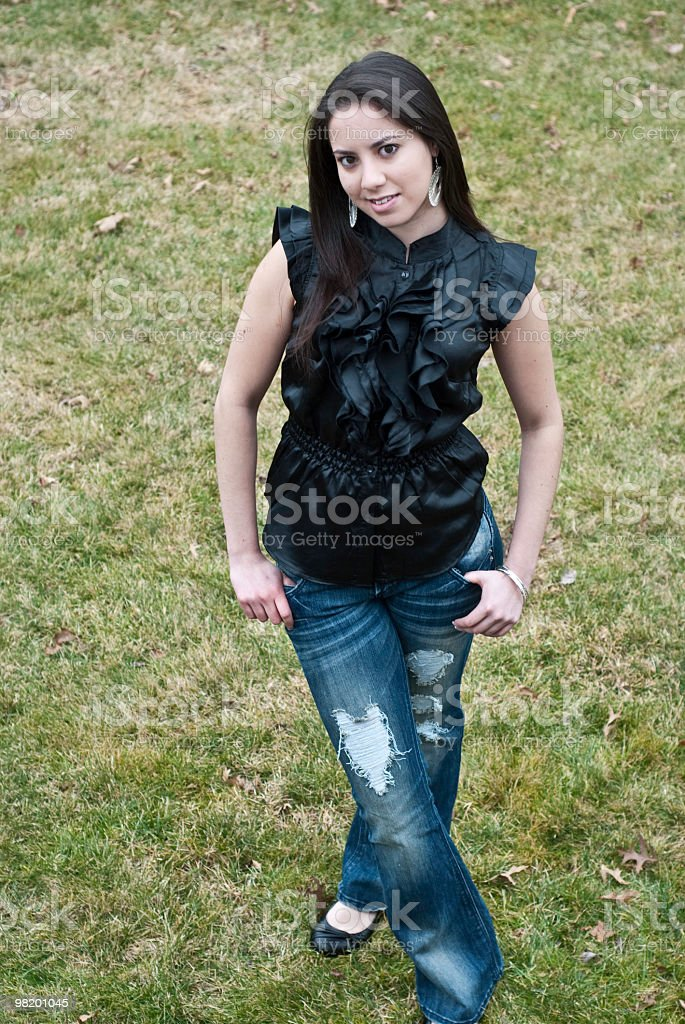 Beautiful Teenager royalty-free stock photo