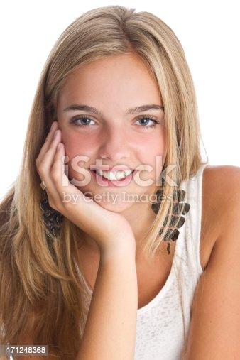 istock Beautiful teen's close-up 171248368