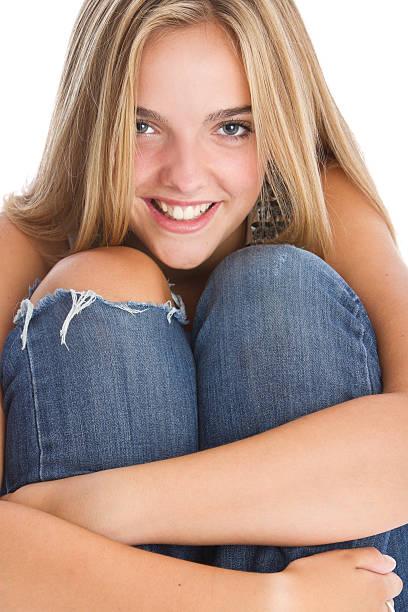 Portret piękne nastoletnie dziecko' – zdjęcie