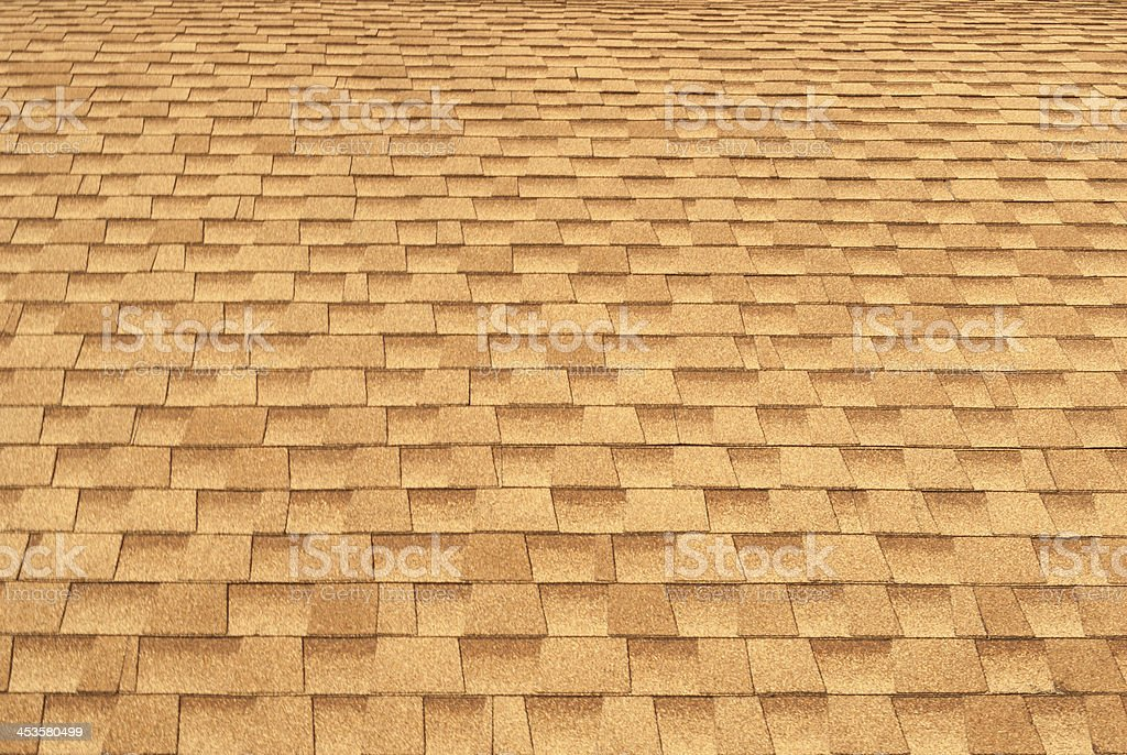 beautiful tile on the roof royalty-free stock photo