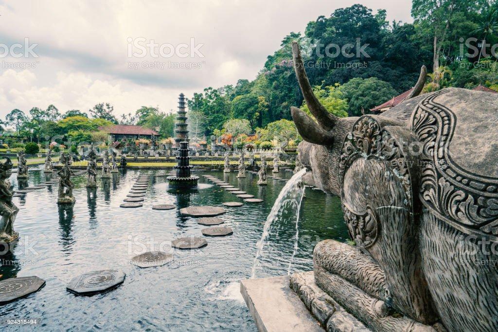 Tirta Gangga Tempel oder Wassertempel, Bali, Indonesien – Foto