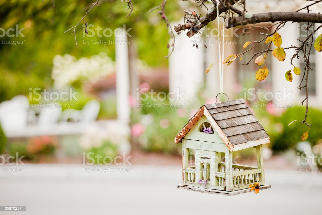 Beautiful treehouse stock photo