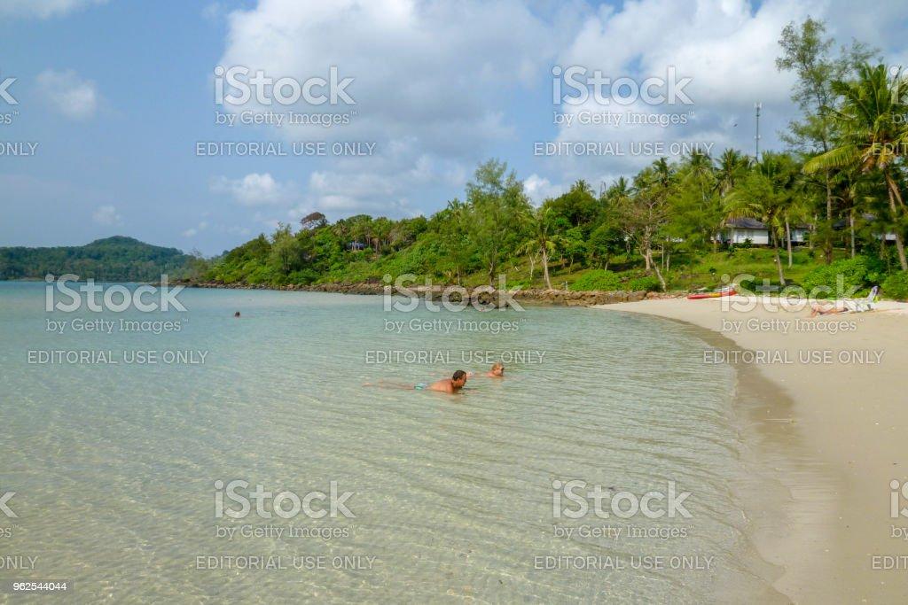 Beautiful tropical beach at Koh Kood island in Thailand - Royalty-free Asia Stock Photo
