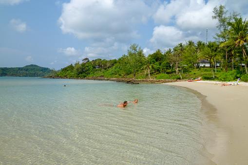 Beautiful Tropical Beach At Koh Kood Island In Thailand Stock Photo - Download Image Now