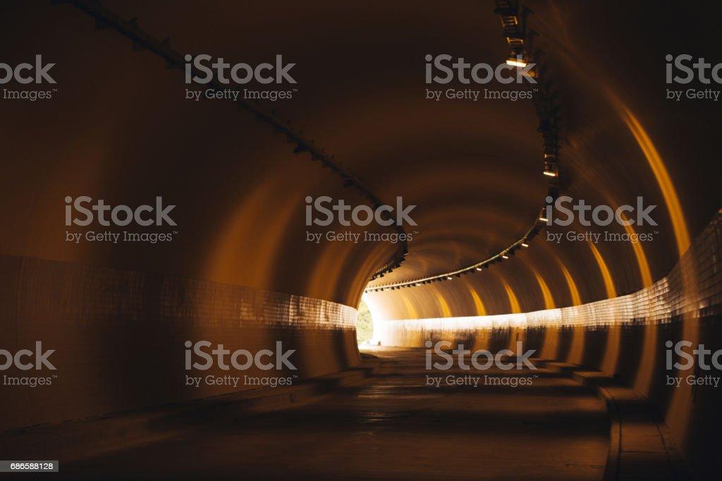 Beautiful Tunnel photo libre de droits