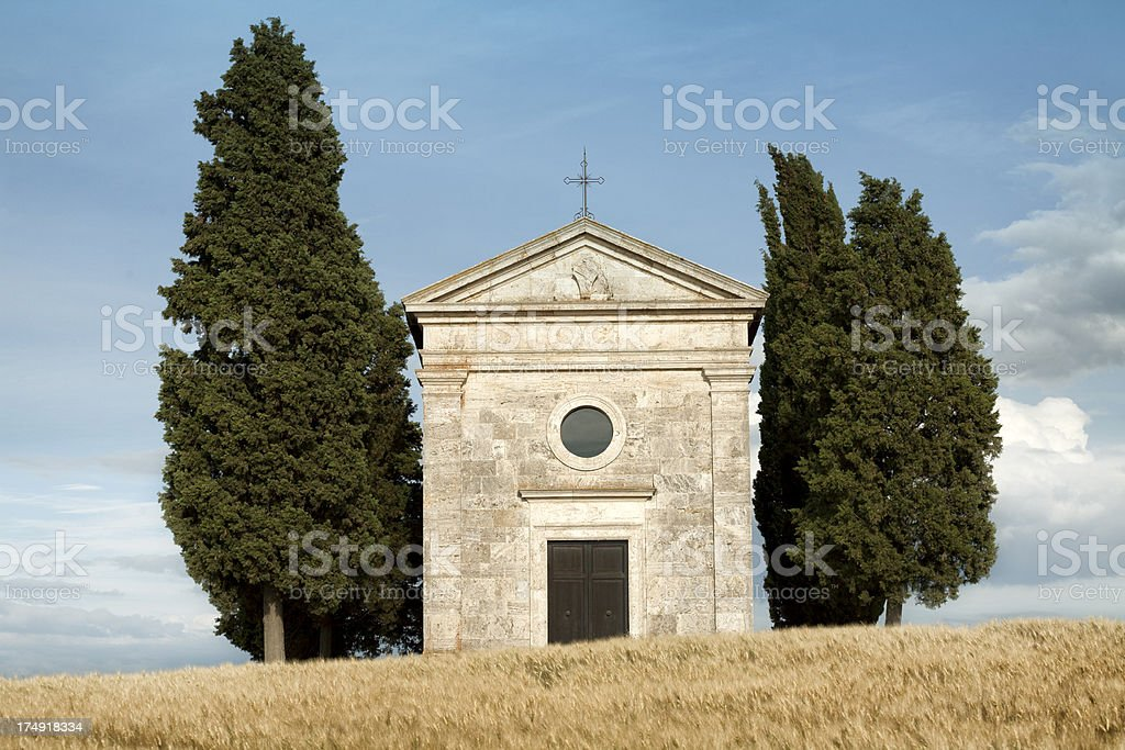 Beautiful Tuscany royalty-free stock photo