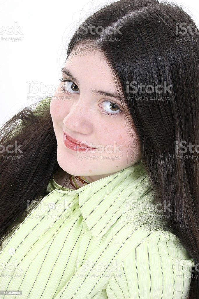 Beautiful Tween Girl royalty-free stock photo