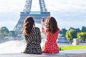 美しいツイン姉妹パリ,フランス
