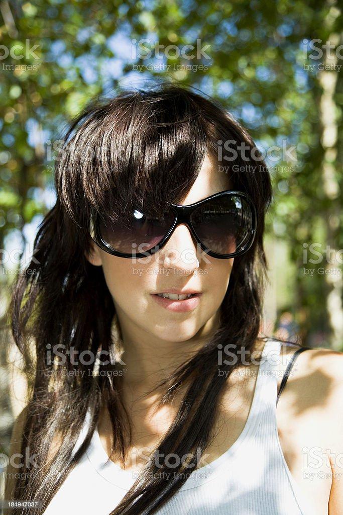beautiful urban girl royalty-free stock photo