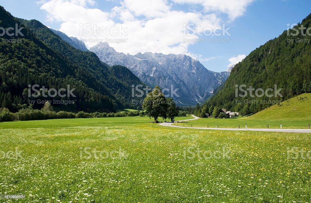 Beautiful valley royalty-free stock photo