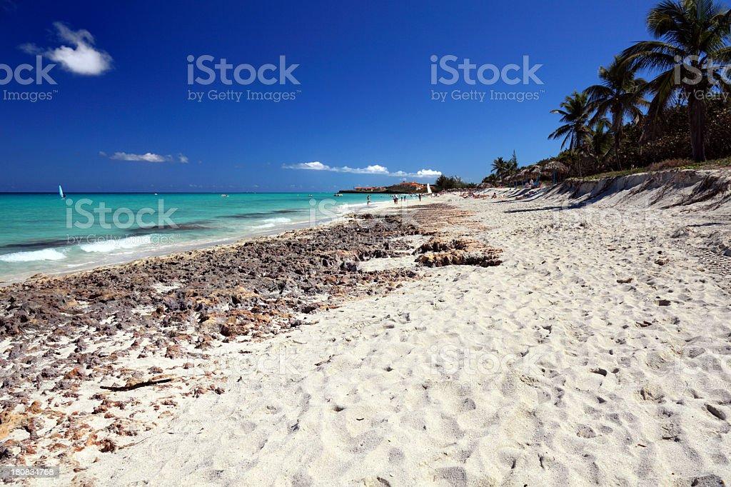 Beautiful Varadero Beach royalty-free stock photo