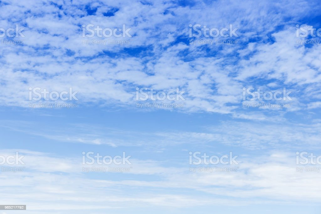 beautiful vast blue sky and clouds sky background royalty-free stock photo