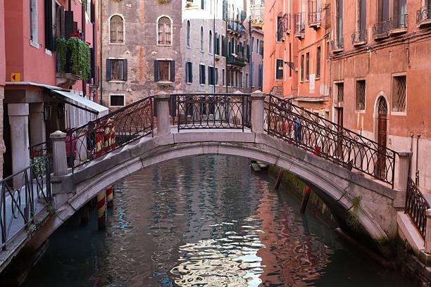 Schöne Venedig-Brücke – Foto