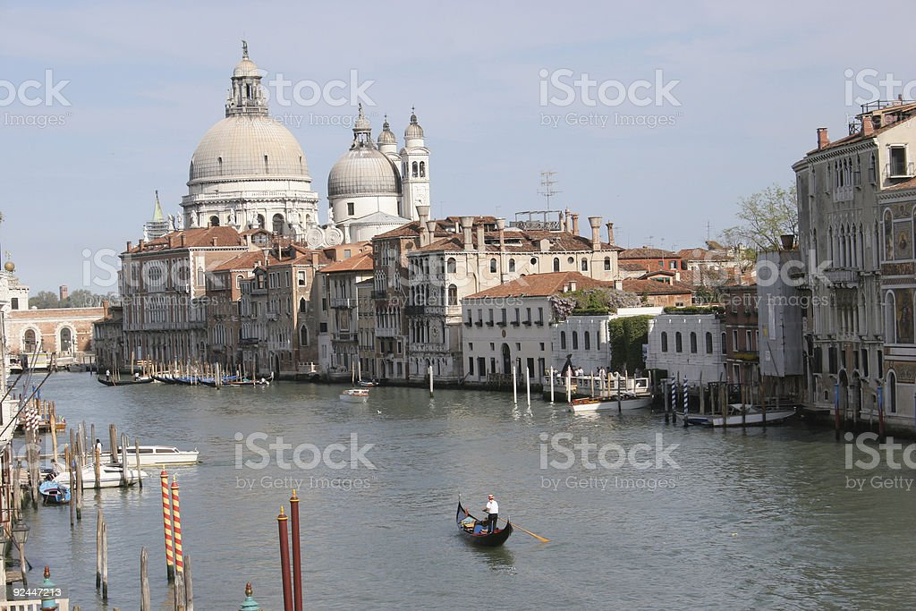 Beautiful Venice, Grand canal royalty-free stock photo
