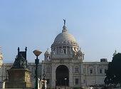 istock beautiful victoria memorial of kolkatta west bengal 1328335836