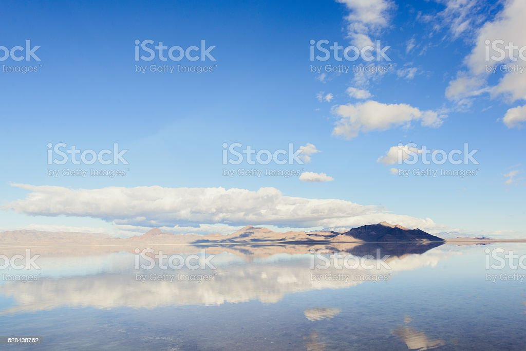 Beautiful view in Salt lake stock photo
