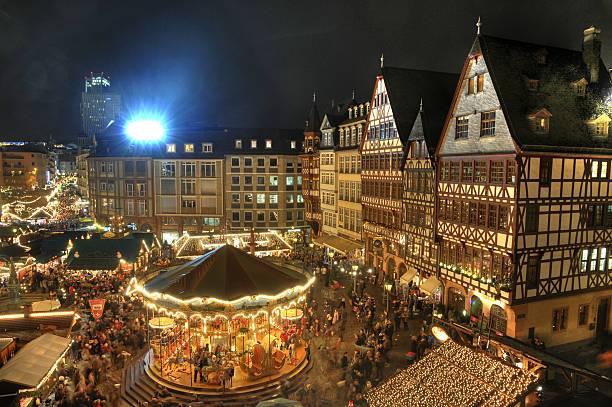 Weihnachts-Markt in Frankfurt – Foto