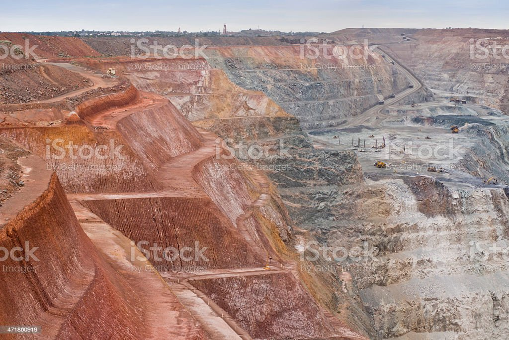 A beautiful view of a superior stock photo